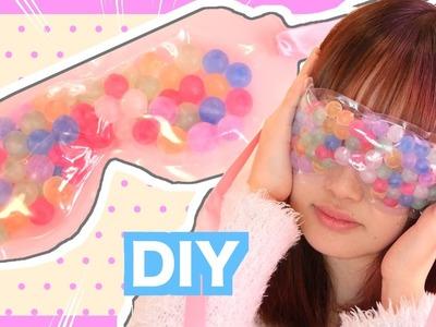 DIY Squishy Eye mask with orbeez tutorial