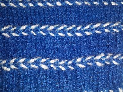 Dori Design for Sweater. Cardigan in Hindi | Easy Knitting