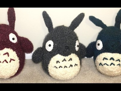 GIANT Totoro Amigurumi Crochet Tutorial Part 2