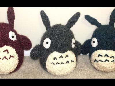 GIANT Totoro Amigurumi Crochet Tutorial Part 1