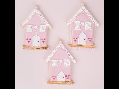How to Decorate Chapel of Love Cookies with Royal Icing Doves