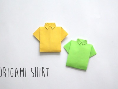 How to Fold: Origami Shirt