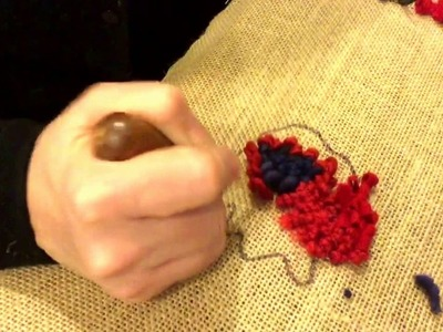 How to hook poppies with Deanne Fitzpatrick