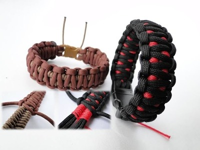 "How to Make a ""Cobra Attack"" Survival Plus+  Paracord Bracelet"