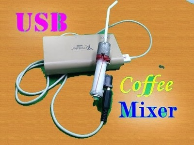 How to make a Coffee Mixer With DC motor