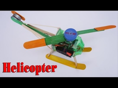How to make a Helicopter - Electric Helicopter