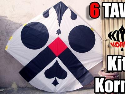 How to make a Kite - 6 Tawa Gudda - KITES KORNER