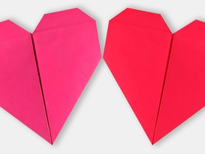 How to Make a Paper Heart   Origami Heart   Easy Origami Heart