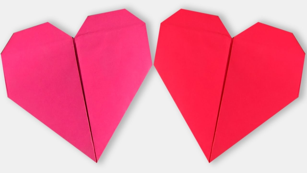 How to Make a Paper Heart | Origami Heart | Easy Origami Heart
