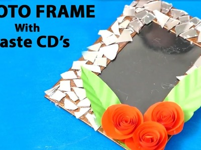 How To Make a Photo Frame Out of Waste CD | HD