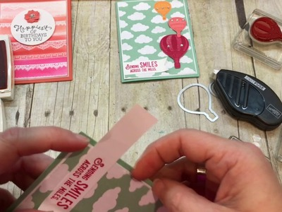 How to make a simple Lift Me Up Card with Carried Awap DSP