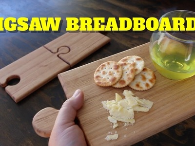 HOW TO MAKE A WINE AND CHEESE JIGSAW BREADBOARD