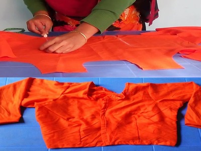 How to Make Blouse Cutting by NT Fashion Point