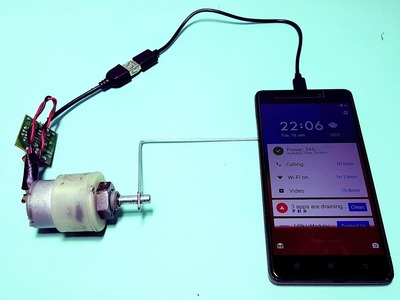 How to make Emergency Mobile Charger at home