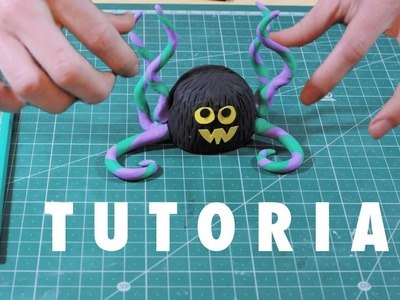 How to make Tentaculos - Clay monster