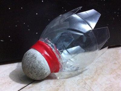 How to make your own homemade badminton plastic shuttlecock!