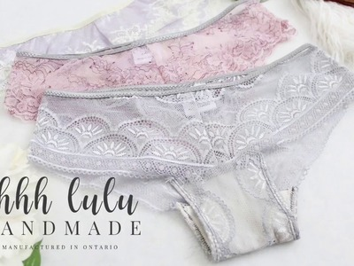 How to Sew the Side Seams and Elastic Edging on the Ultimate Lace Panties