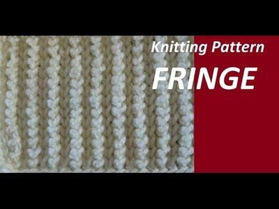 Knitting Pattern ***FRINGE ***