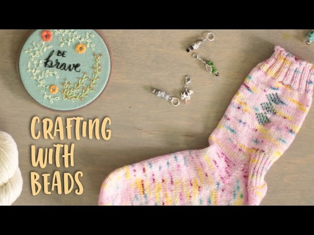 Knitting, Spinning and Embroidering with Beads