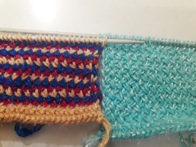 Smocked Stitch Knitting Tutorial, My Crafts and DIY Projects