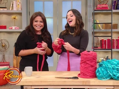 Learn to Knit with No Needles -- Just Your Arms!