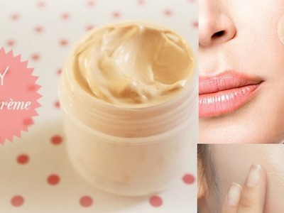 Make your own BB cream |dIY BB cream |How to make BB CREAM at home |