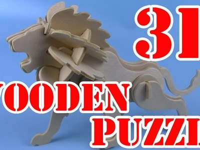 NEW 2017 Wooden Puzzle How to Make 3D puzzle Animals Compilation