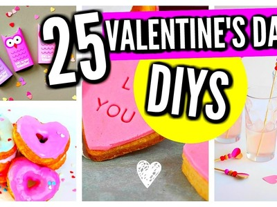25 DIY Valentine's Day Gifts, Treats, Room Decor Ideas & Crafts!