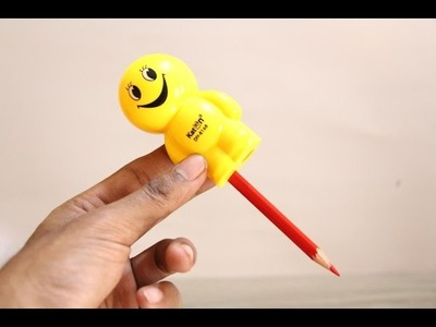 Awesome pencil sharpener for kids - Sharpen a Pencil like a Boss - diy