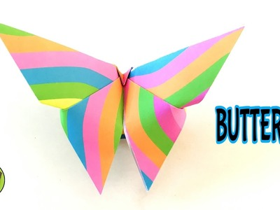 BUTTERFLY - Easy Origami Tutorial from Paper Folds