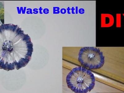DIY : Flower Making By Waste Plastic Bottle | Best Out Of Waste Bottle | Nidhi Jain