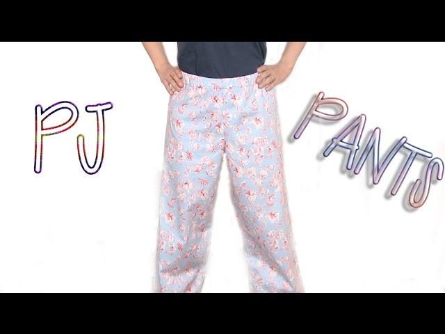 DIY: How To Sew PJ Pants