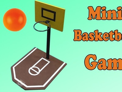 DIY Mini Basketball Game (Easy Experiments)