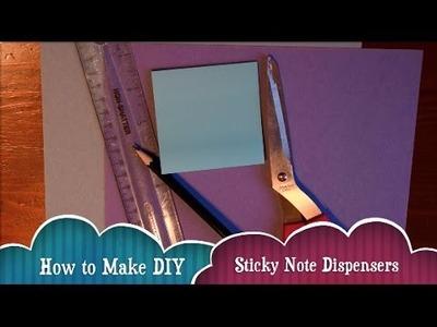DIY Sticky Note Dispenser   JasonLovesLife Forever