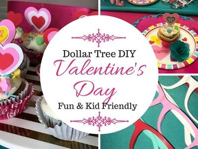 Dollar Tree Valentine's Day Ideas| Kid Friendly DIY |Walmart .98 Cents Spot