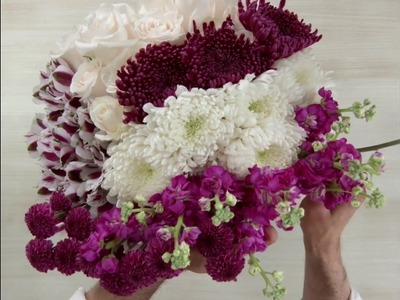 How To Create an Elegant Flower Arrangement with Long Stem Roses and More