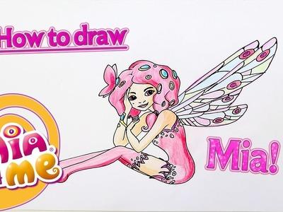 How to draw Mia - Mia and me