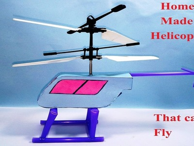 How to make a helicopter at home that can fly