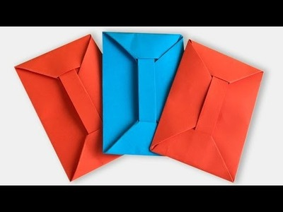 How to Make a Paper Envelope | Origami Envelope Without Glue or Tape