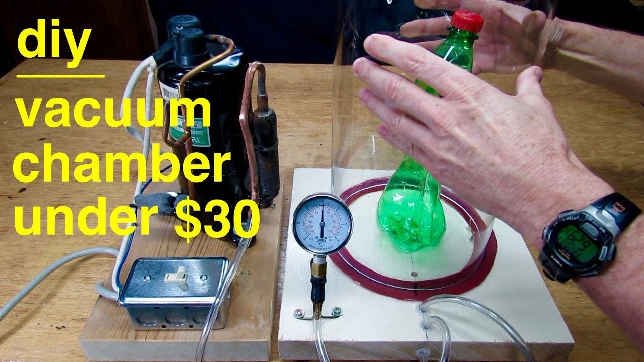 How to make ●  A VACUUM CHAMBER ● ( for under $30 ! )