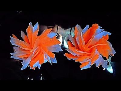 HOW TO MAKE CARROT RADISH FLOWERS & VEGETABLE CARVING - ART IN CARROT - RADISH DESIGN