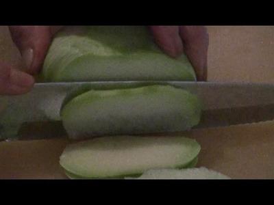 How To Make Chinese Dumplings  (Kohlrabi And Pork Dumpling)   Mom's Chinese Dumpling Recipe