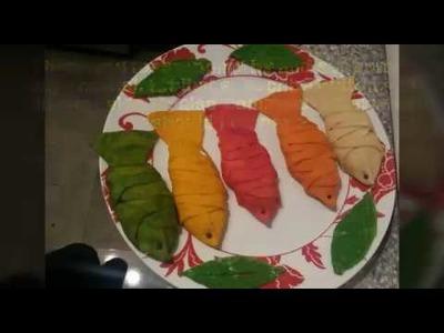 How to make fish puff | mach pitha