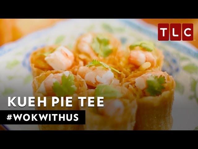 How to make Kueh Pie Tee | #WokWithUs