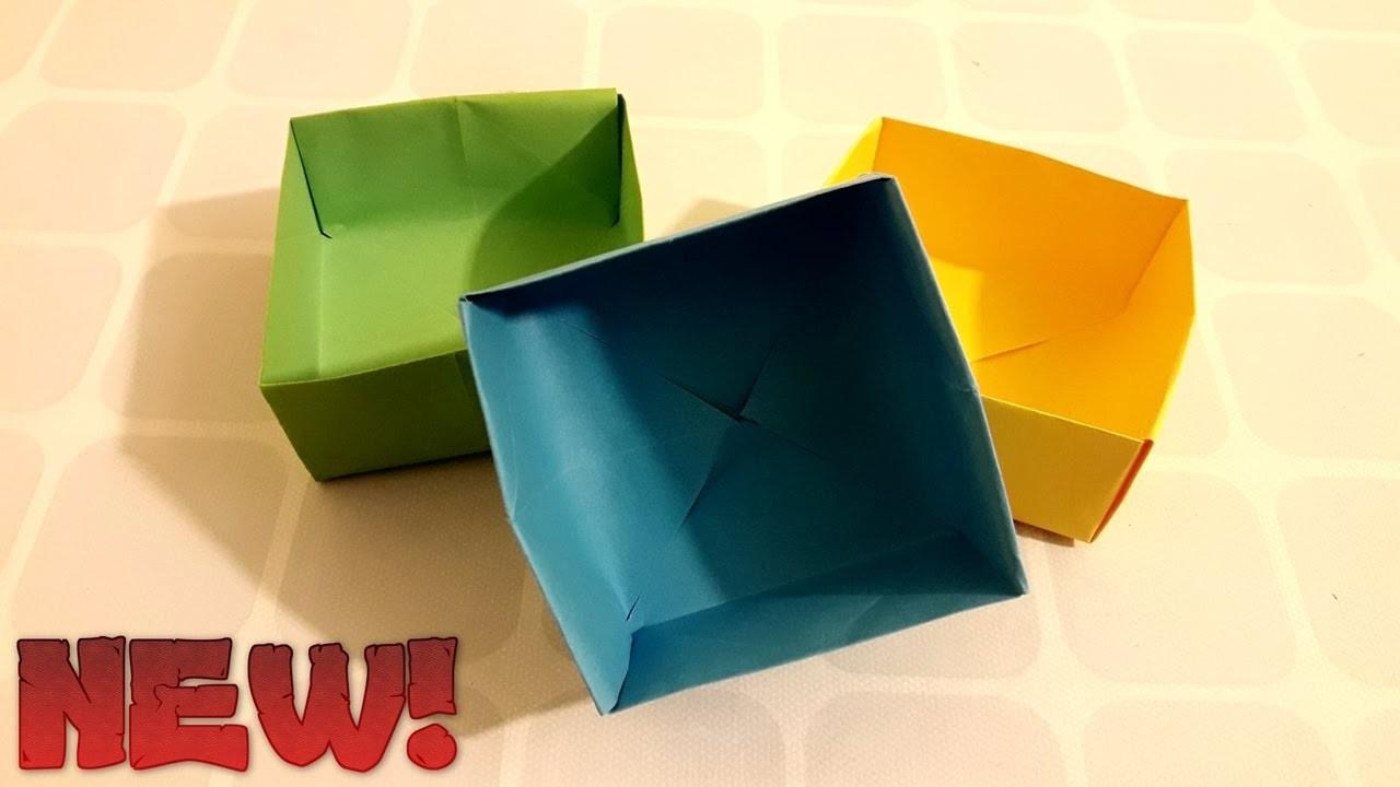 How To Make Paper Mini Box (Easy)