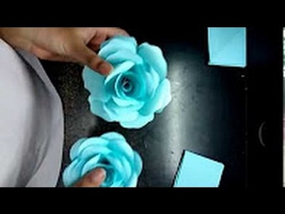 How to make paper roses easily(complete tutorial)