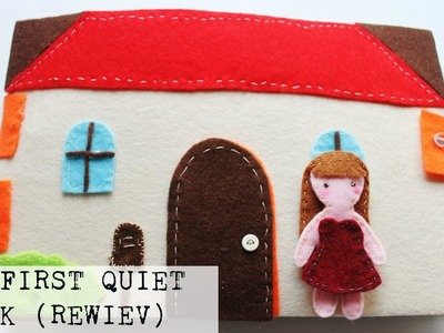 My First DIY Quiet Book Doll House Ispired (Review) | PassionFruitDIY