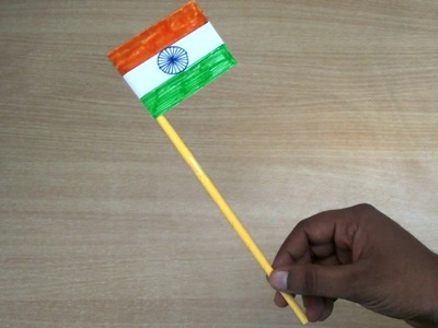 Republic day crafts | How to make a Indian Flag