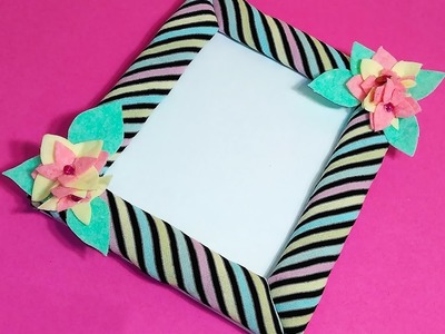 Super cute - Photo Frame. Ideas for gift!  DIY Plush photo frame!