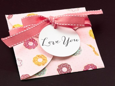Valentine's Crafts with Sugar Rush Paper Packet